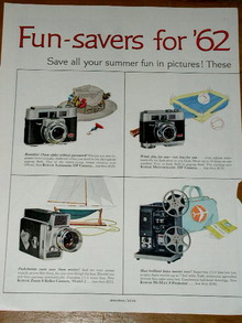 Kodak Camera Products Advertisement