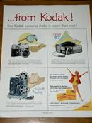 Kodak Camera Products Advertisement