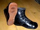 Victorian Button Child's Shoes