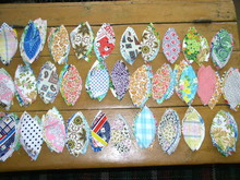 Quilt Block Pieces, Precut Flower Pedals -  QB