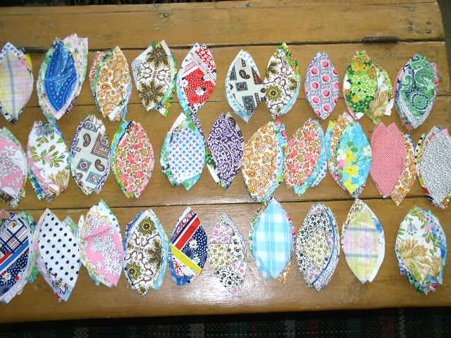 Quilt Block Pieces, Precut Flower Pedals -  QB