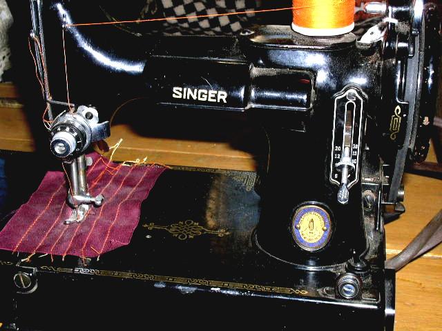 Featherweight Singer Sewing Machine