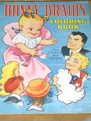 Bonny Braids, Dick Tracy Coloring Book