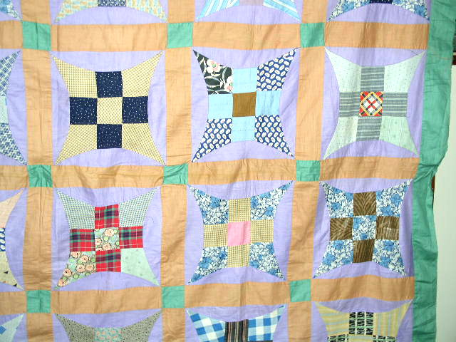 Improved 9 Patch Quilt Top -  QTP