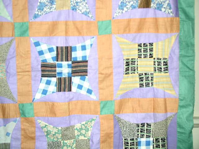 Improved 9 Patch Quilt Top -  QTP