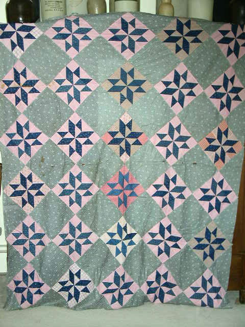 Diamond Star Quilt Top -  QTP