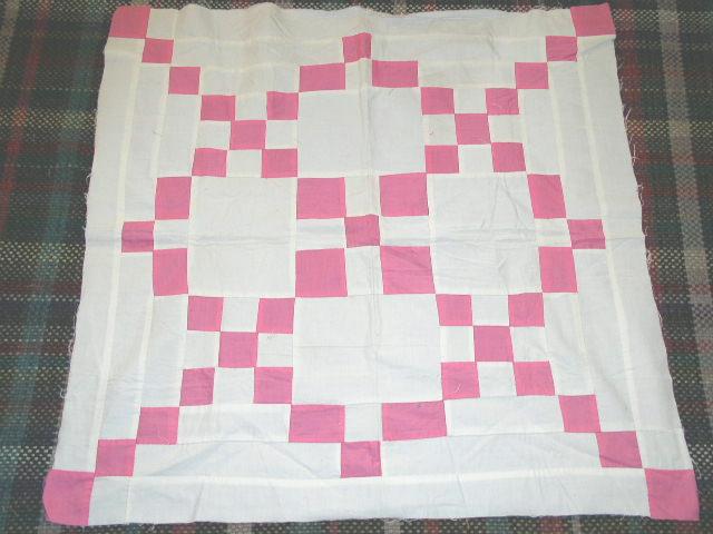 9 Patch Variation Quilt Top  - QTP