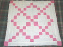 9 Patch Variation Quilt Top  - QTP - SALE ITEM