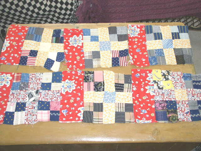 4 Patch Variation Quilt Blocks -  QB
