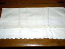 Lace Edged Pillowcases