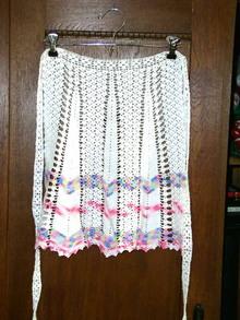 Crocheted Half Apron
