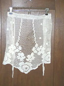 Crocheted Half Apron