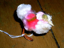 Fuzzy Easter Chick