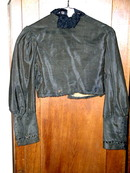 Black Ladies Short Jacket