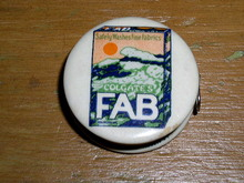 Fab Colgate Celluloid Tape Measure
