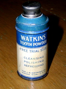 Watkins Tooth Powder Sample Tin
