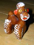 Brown Poodle  -  FG