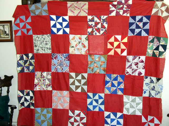 Pinwheel Quilt Top -  QTP