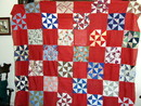 Pinwheel Quilt Top -  QTP  SALE ITEM