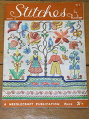 Stitches - Needlecraft Publication  -  MZ