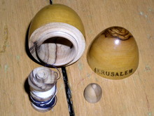Wooden Egg Sewing Kit