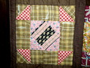 Square In A Square Quilt, 1880's -  QLT