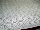 Crochet Cotton Ecru Tablecloth or Bedspread