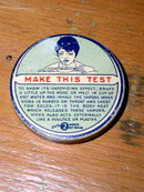 Vicks Vapor Rub Test Sample