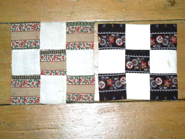 9 Patch Quilt Blocks 1860's -  QB