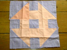 Ohio Star Quilt Block 1950's -  QB