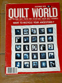 Quilt World Magazine, December 1979  -  QM