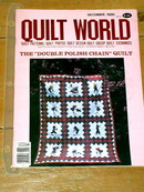 Quilt World Magazine, December 1980  -  QM
