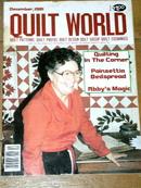 Quilt World Magazine, December 1981  -  QM