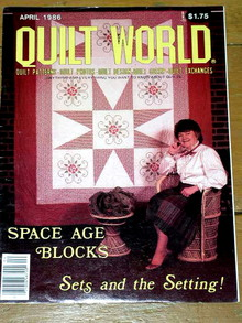 Quilt World  Magazine, April 1986  -  QM