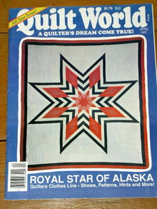Quilt World  Magazine,  April  1987  -  QM