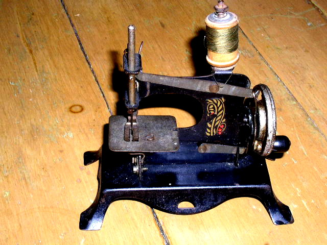 1890's Toy Sewing Machine