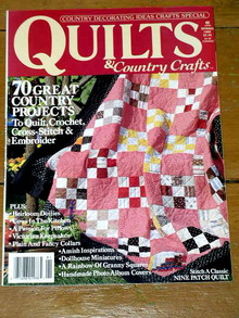 Quilt Magazine, 1989, Quilts & Country Crafts Special  -  QM
