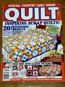 Quilt Magazine, 1992, Scrap Quilts Special  -  QM