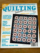 Quilting International Magazine, 1990  -  QM
