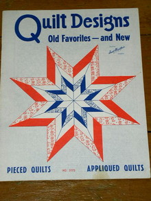 Aunt Martha's Quilt Designs - Old Favorites & New, 1980  -  QM