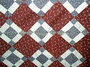 Shoo-Fly Variation Quilt Top -  QTP