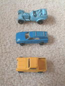 Tootsie Toy Cars, set/3.