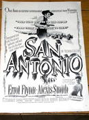 San Antonio - Life Magazine Movie Ad