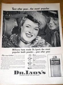 Dr. Lyon's Tooth Powder