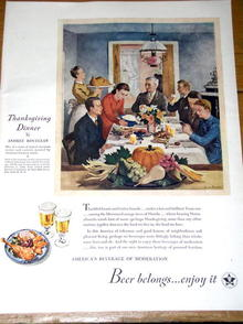 United States Brewers Foundation Beer Ad