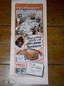 Aunt Jemima Buckweheat Pancakes Advertisement