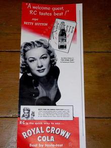 Royal Crown Cola  Advertisement