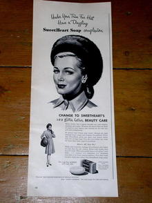Sweetheart Soap  Advertisement
