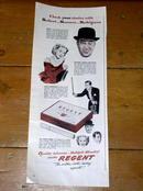 Regent Cigarettes  Advertisement