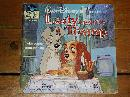 Disney's Lady and the Tramp book and 33 1/3 record set